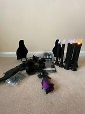 Halloween Decoraciones velas, aves, manteles, Rosas, arañas, Tealights, Bat
