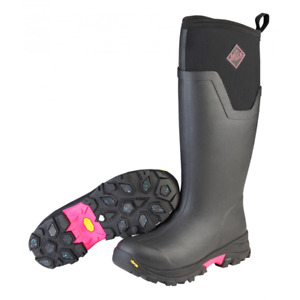 Muck Womens Pink Arctic Ice Tall NEW VIBRAM ICETREK SOLE EXTREME WINTER BOOTS