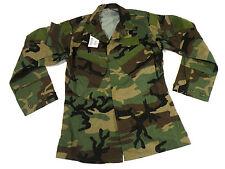 Woodland RAID Modified BDU Uniform Top Combat Shirt Coat Medium Long Navy SEAL
