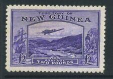 1935 New Guinea £2 SG 204 Mint Hinged Cat £350