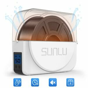 SUNLU 3D Printer Filament Dryer Keep Filaments Dry Storage Drying Box