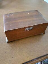 Vintage Working Thorens Wood Music Box Made In Switzerland, 60s ?