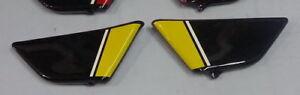 HONDA vintage enduro XL250 XL350 COVER LEFT&RIGHT SIDE black yellow new