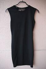Elegantes, schwarzes Kleid mit Spitze am Rücken von Amisu, Gr. 36 (Gothic/Chic)
