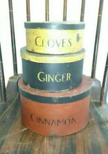 Vintage Pantry Boxes Stackable Reproduction