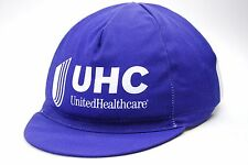 Team United Healthcare UHC Euro Race Blue & White Cycling Cap OSFM
