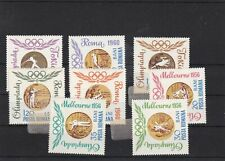romania mounted mint olympics 1956 stamp ref 16727