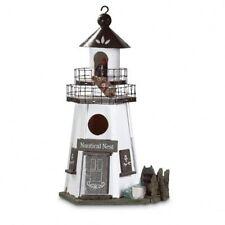 Nautical Nest� Birhouse, Multi-Color, Wood and traingle