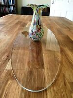 Clear Acrylic Oval Table Runner / Protector in 3mm & 5mm thick options