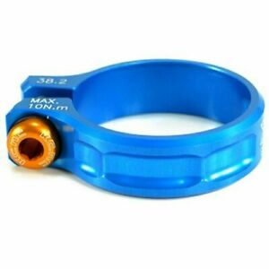 KCNC SC11 Seat Post Clamp 7075 Alloy  38.2mm Blue  A05