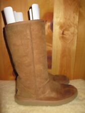 UGG Australia 5815 Classic Tall Sheepskin Boots Chestnut Brown Womens  size 7