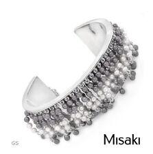 Brazalete marca MISAKO ORIGINAL Pulsera de perlas de agua dulce y plata de ley.