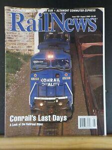 RailNews #429 1999 August UP MoW Crew Conrail last days Wisconsin Central