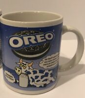 Oreo Cookie Coffee Mug Kraft Nabisco Collectible Coffee Milk Cup Cow Collection