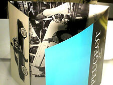 TRES RARE DEPLIANT PEUGEOT 403 EXPORT SEDAN US/ENGLISH EDITION 1960