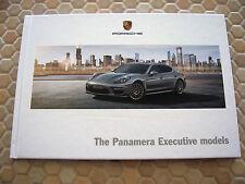 PORSCHE PANAMERA 4S TURBO S EXECUTIVE HARDBACK PRESTIGE BROCHURE 2014 USA Ed.