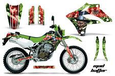 KAWASAKI KLX 250 Graphic Kit AMR Racing Decal Sticker Part KLX250 04-07 MADHAT R