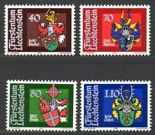 Liechtenstein - 1980 Coats of arms Mi. 743-46 MNH