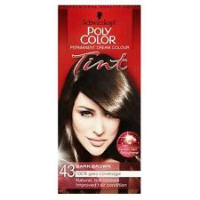 SCHWARZKOPF POLY COLOR TINT 43 DARK BROWN CREAM COLOUR