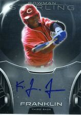 Kevin Franklin 2013 Topps Bowman Sterling Prospects 2nd Round Autograph Auto
