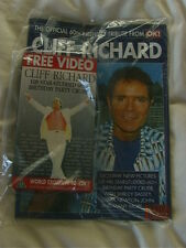 Cliff Richard - 60th Birthday Cruise Video + OK Souvenir Mag - Sealed - NOW RARE