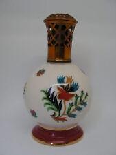 ancienne lampe berger en porcelaine de couleuvre joli decor