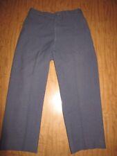 Vtg USA Air Force Blue Wool Pants 32x28 Hunting Field Trousers Rapid Zipper USAF