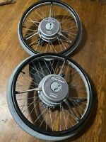 """24"""" Sunrise Medical Quickie XTENDER Power Assist Wheelchair Wheels by Yamaha*"""