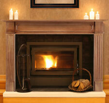 Alamo 50 In. Fireplace Mantel Unfinished
