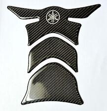 Yamaha YZF-R1 R6 FZ1 FZ8 FZ6 Real Carbon Fiber tank pad Protector Sticker trim