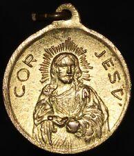 More details for religious 'cor jesu' medal | medals | km coins
