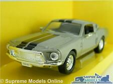 SHELBY FORD MUSTANG GT-500 KR CAR MODEL ELEANOR 1:43 SIZE SIGNATURE 60 SECONDS T