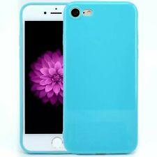 For iPhone 7 5S 6 Plus XS Max Back Cover Slim Soft TPU Silicon Glossy Phone Case
