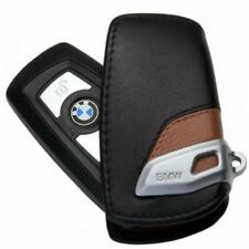 Original BMW Schlüsseletui Leder Luxury Line schwarz/braun