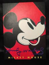 Vintage Andy Warhol Mickey Mouse Notecards Box of 20 Rare HTF 1993-94