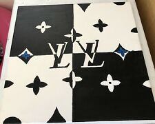 Lv painting on canvas hand painted