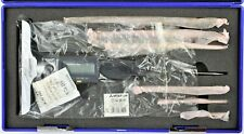 """WESTWARD 4KY22 Depth Micrometer,0 to 6"""",Electronic, Includes 6 Rods"""