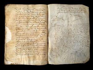 1653 ANTIQUE PARCHMENT 48 pages