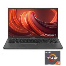 "New Asus VivoBook F512Da-Wh31 15.6"" Laptop Amd Ryzen3 3200U 4Gb 128Gb Vega3 Gray"