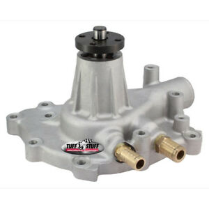 Tuff-Stuff Water Pump 1432; High Volume As Cast Aluminum Mechanical for Ford SBF