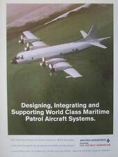1993 PUB BRITISH AEROSPACE AUSTRALIA MARITIME PATROL AIRCRAFT MPA P-3 ORION AD