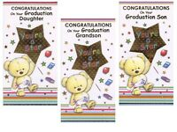 SON DAUGHTER GRANDSON CONGRATULATIONS ON YOUR GRADUATION CARDS 1ST P&P