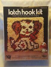 "Valiant Latch Hook Kit 9665 Poochie 12""×12"" New & Sealed"