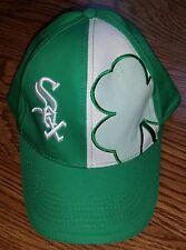 Chicago White Sox Irish St. Pats Green Chi-Rish Miller Lite Baseball Cap Hat
