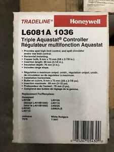Honeywell Triple Aquastat Controller