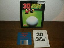 3D POOL BILLIARD (FIREBIRD SOFTWARE) (AMIGA)