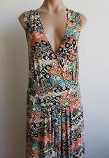 Taillissime La Redoute Creation V Neck Sleeveless Long Maxi Dress Size Large