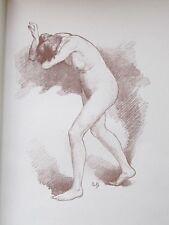 Alfred-Philippe Roll  Etude de Femme  lithographie originale 1897