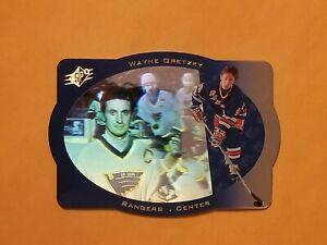 1996-97 SPx Sample Promo Card #39 Wayne Gretzky SP New York Rangers