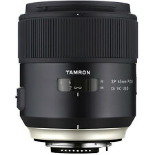 Tamron SP 45mm f/1.8 Di VC USD Lens Canon T6i, 5d, 6d, T7i, 6 YEAR WARRANTY